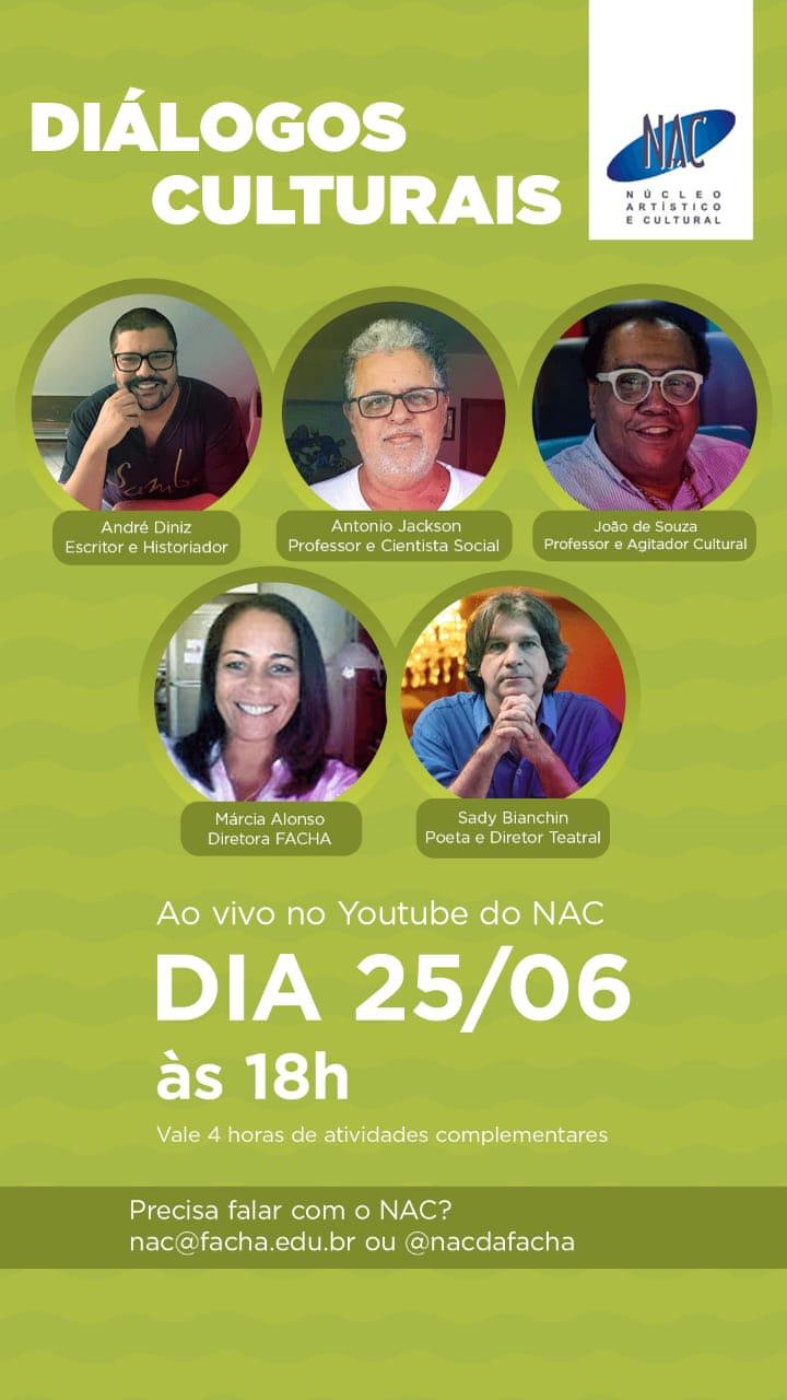 23-06-2020 Dialogos Culturais cartaz virtual